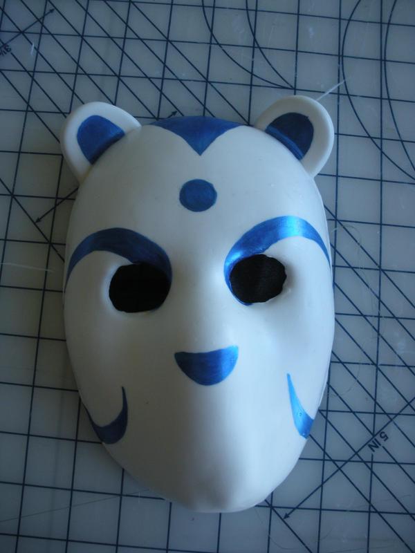 How To Make A Anbu Mask Anbu mask by psifigirlHow To Make A Anbu Mask