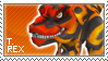 + Fossil Fighters Stamp 2 + by catawump