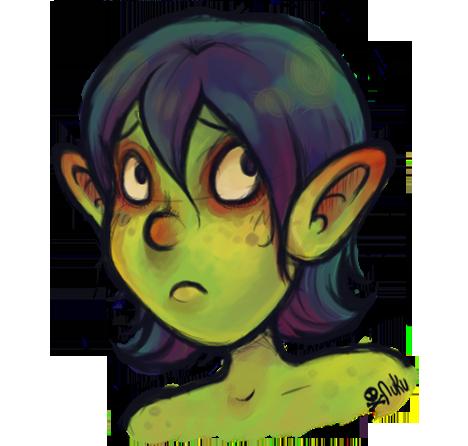 Goblin Girl Sketch By Catawump On Deviantart
