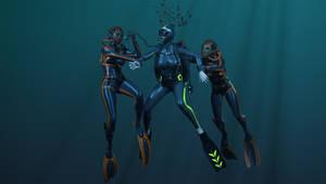 Deep sea attack by Mashvim