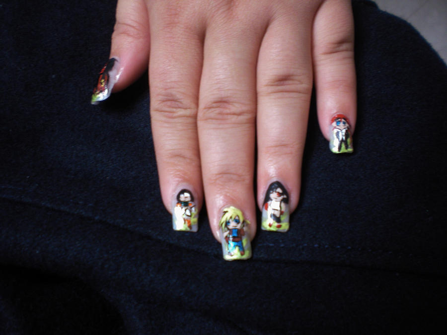 Nail Art For Competition Image collections - nail art and nail design