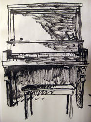 Piano Sketch by BFan1138