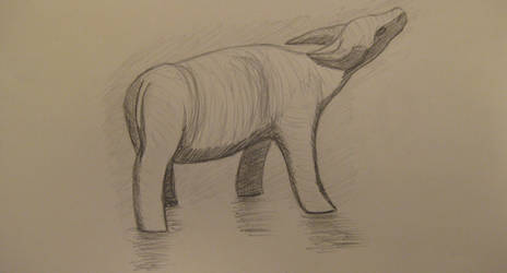 Drawing 2: Water Buffalo by BFan1138