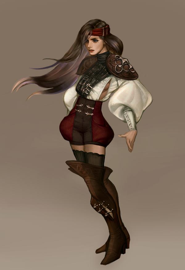 Pirate Girls Art - Google Search | Art Works, 3D Digital ... - photo#26