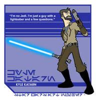 Star Wars Art: Kyle Katarn by toadcroaker