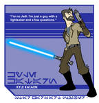 Star Wars Art: Kyle Katarn