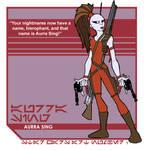 Star Wars Art: Aurra Sing