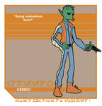 Star Wars Art: Greedo