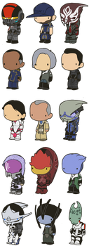 Lil' Mass Effect by toadcroaker