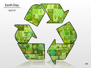 Earth Day Collage -Green-