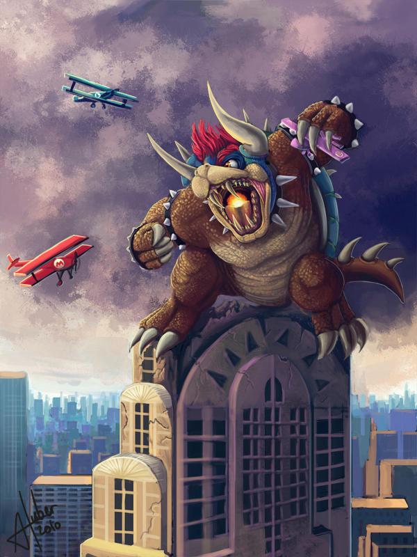 King Bowser Kong