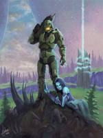 Halo by AnnickHuber