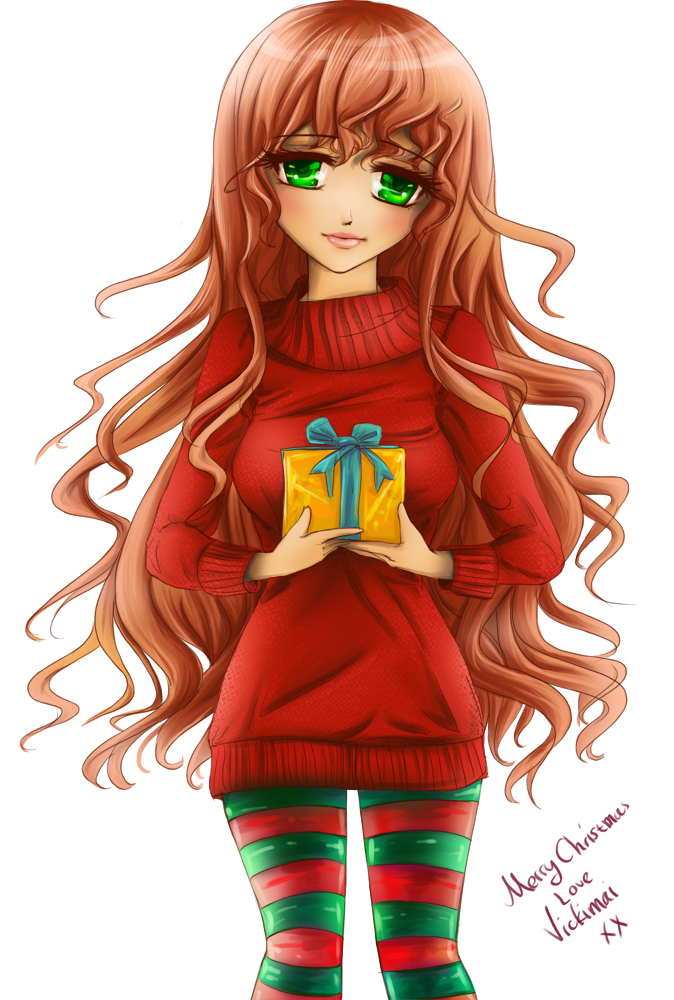 Merry christmas by Vickimai