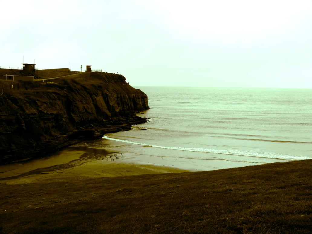 Devon cliffs by Vickimai