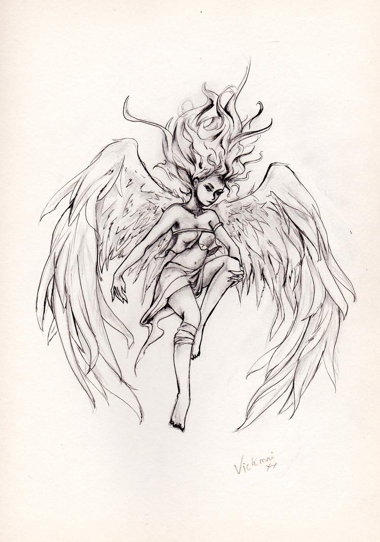 Harpy by Vickimai