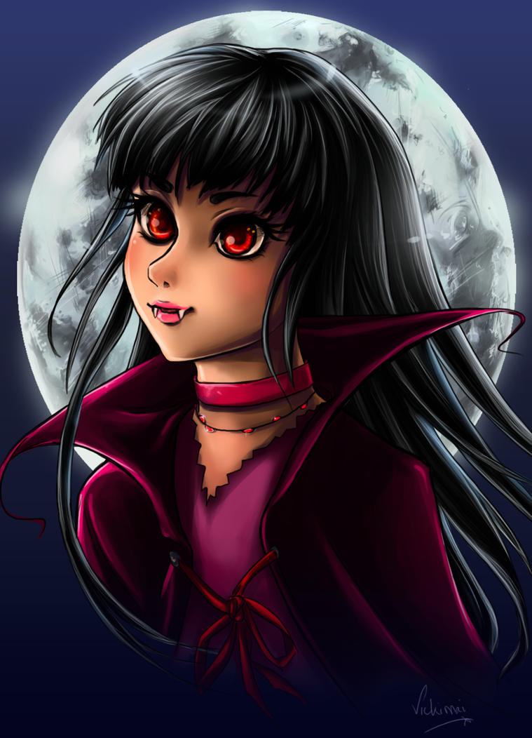 Girly Vampire by Vickimai
