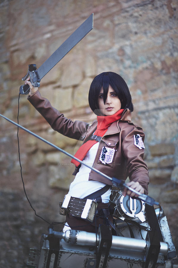Mikasa Ackerman Snk Cosplay By Lauranikophantomhive On