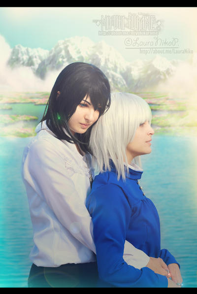Howl and Sophie by LauraNikoPhantomhive