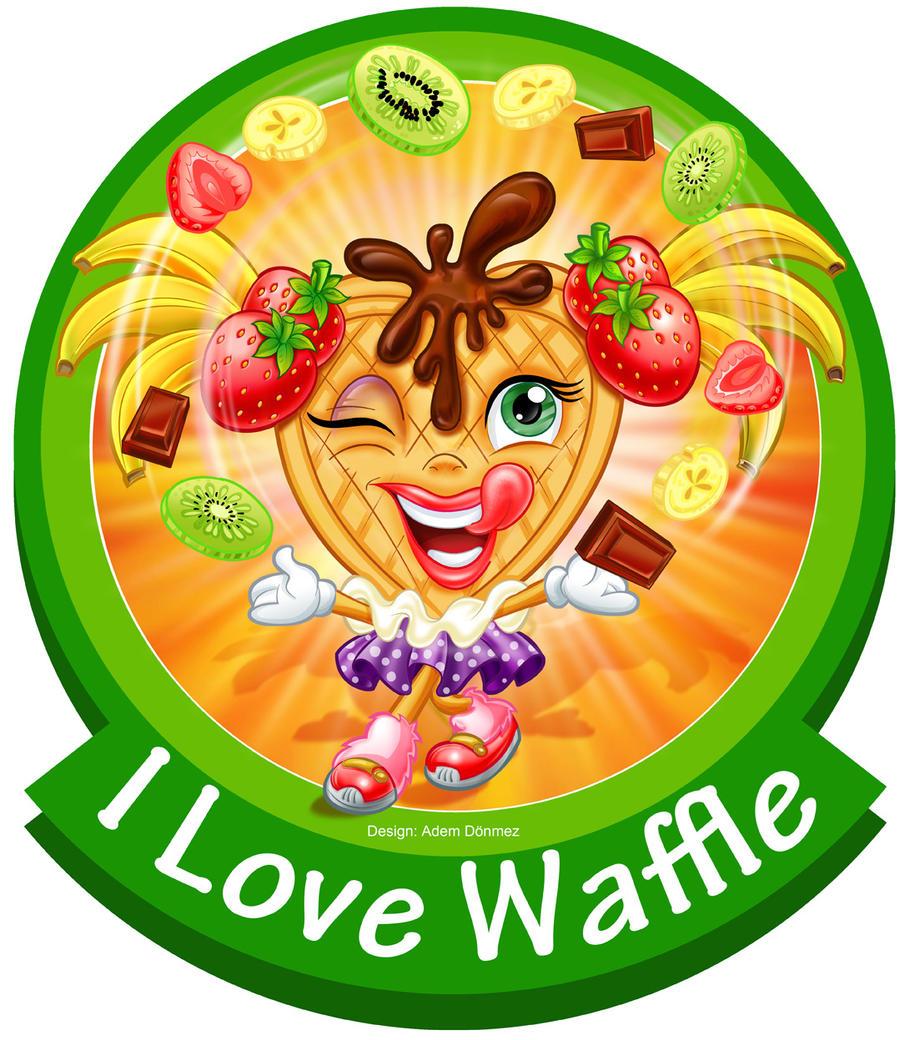 Cartoon Waffle
