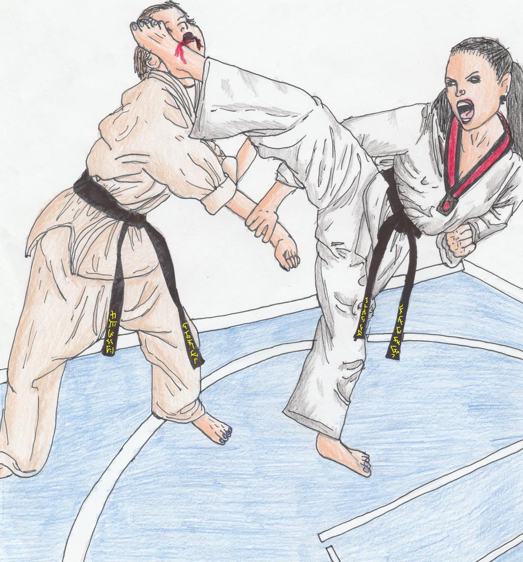 Karate Vs Tae Kwon Do by Sylizar on DeviantArt