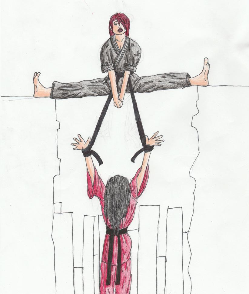 lesbian martial arts story