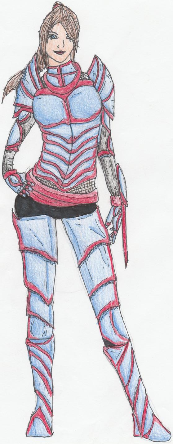 Vanessa (Full Body) by Sylizar
