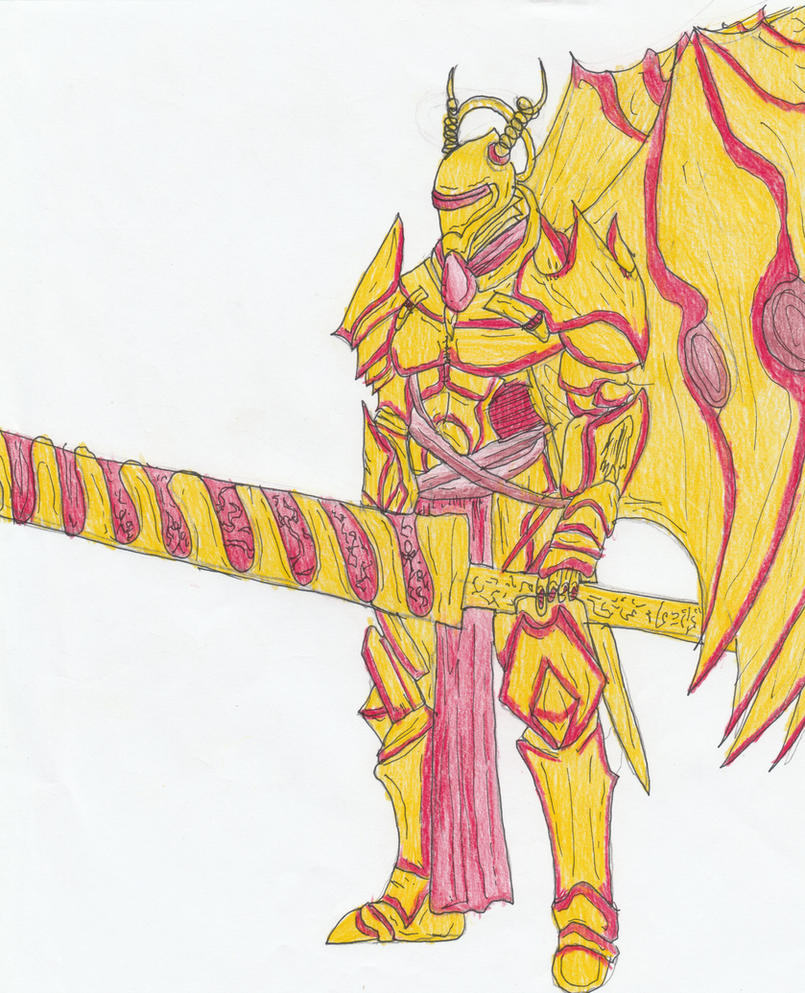 The Golden Knight by Sylizar