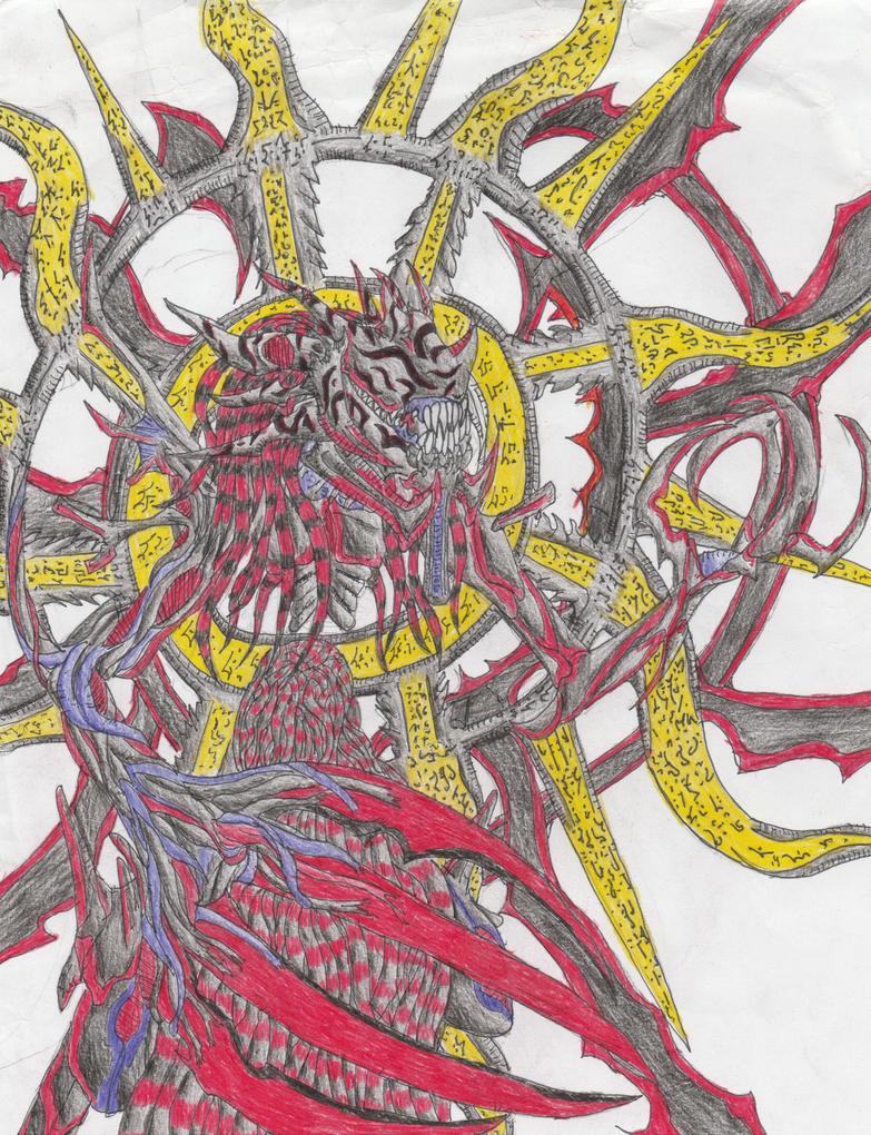 Aya' Sahriel (Nightmare Form Final) by Sylizar