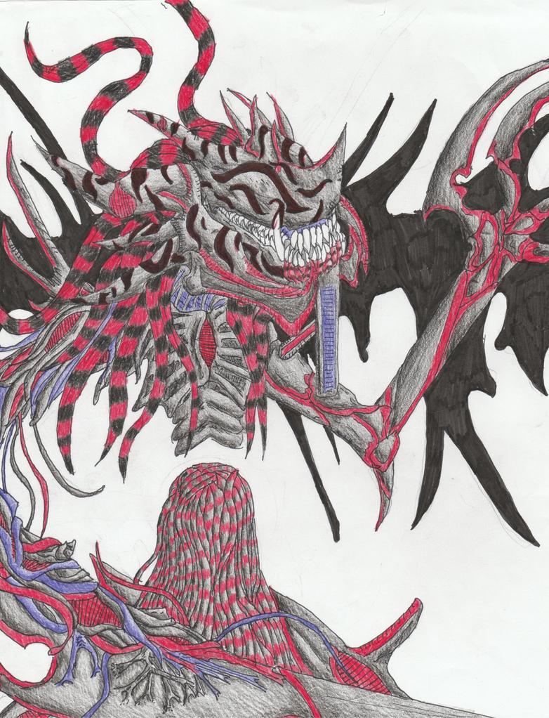 Aya' Sahriel (Nightmare Form Alt. Wings) by Sylizar