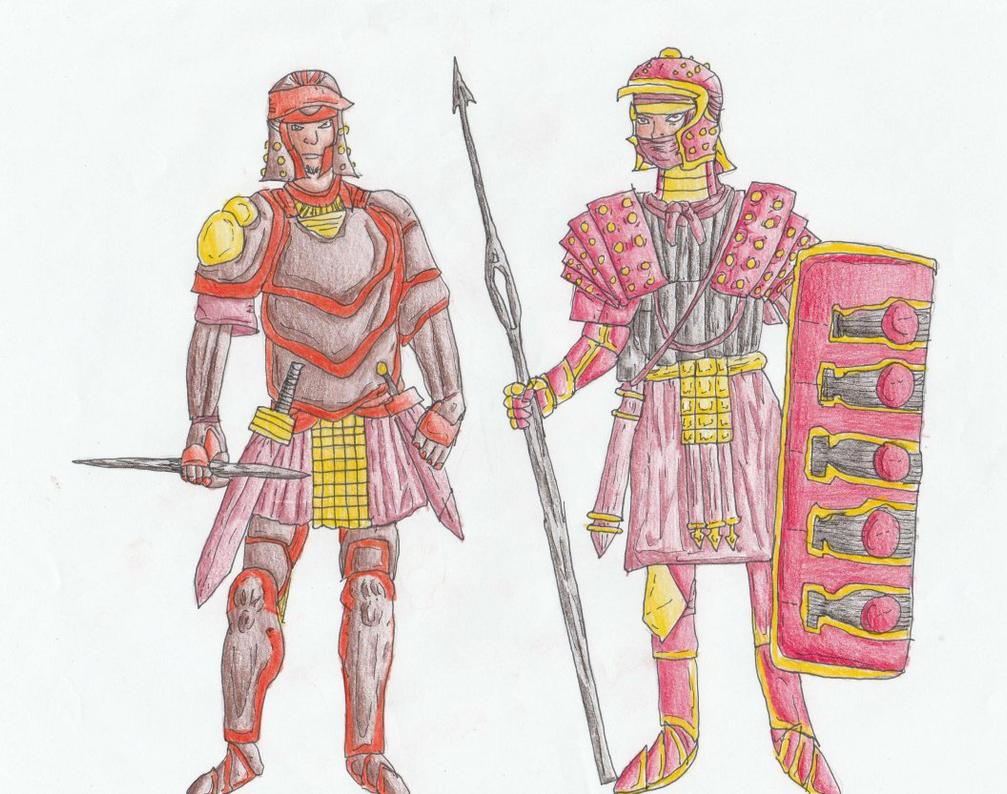 Hyron Soldiers by Sylizar