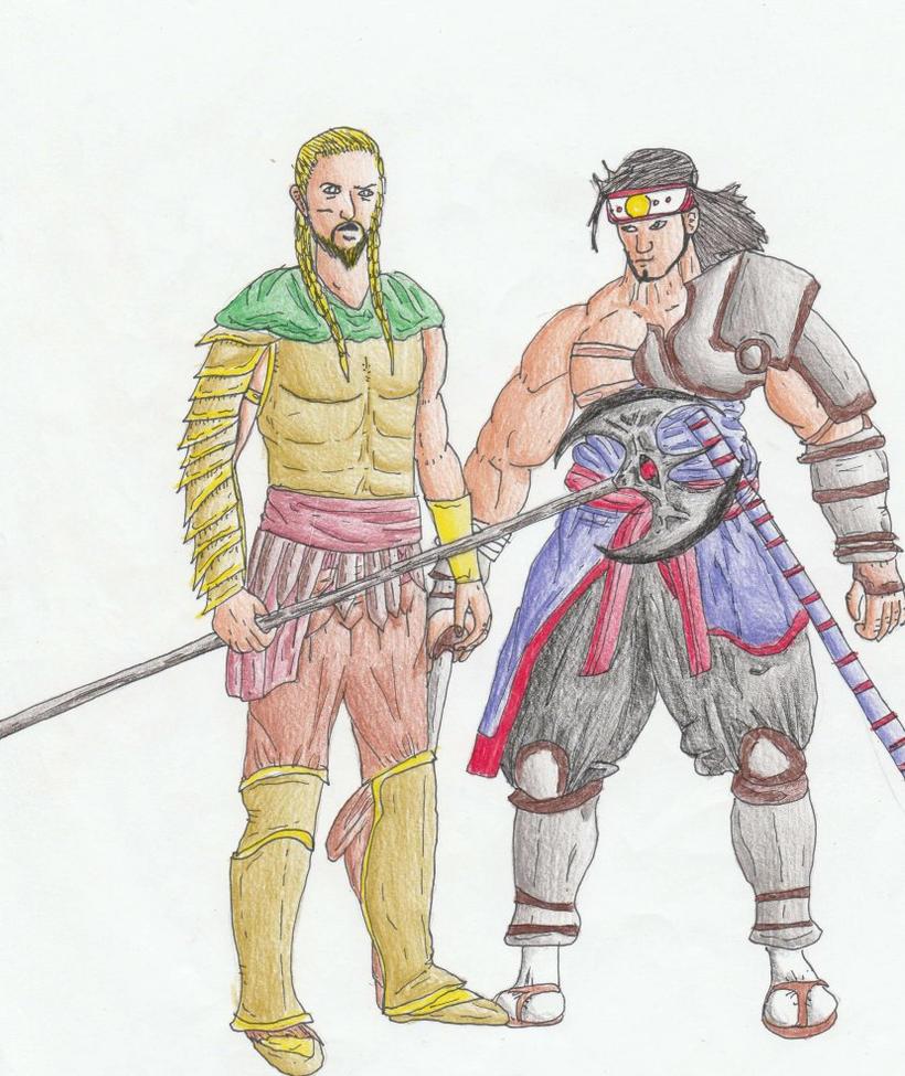 Keras and Daijin by Sylizar