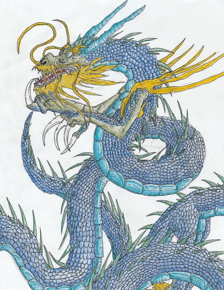 Huajiyong, The Water Spirit by Sylizar