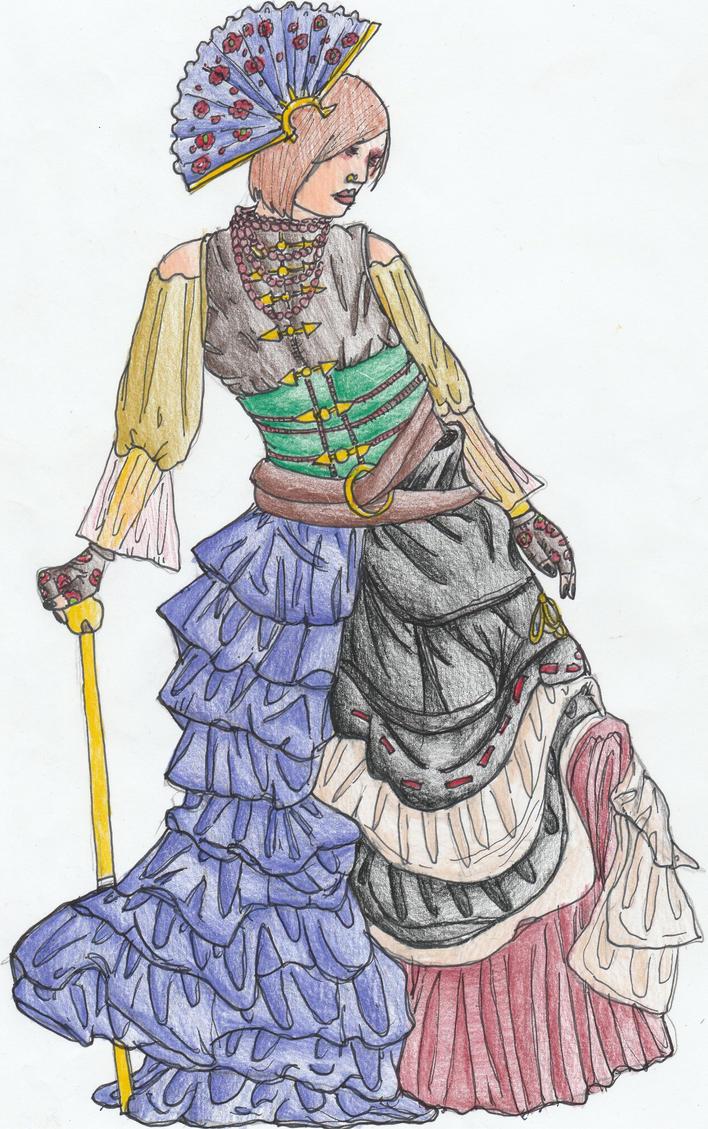 Lady Selina (Dress) by Sylizar