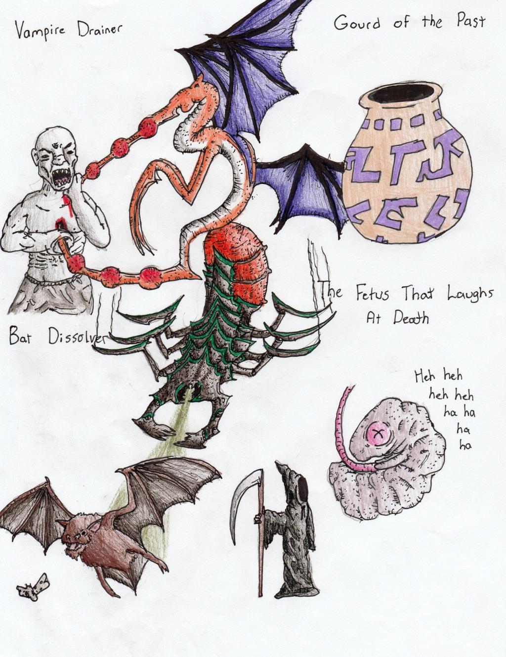 creature generator creations 12 by sylizar on deviantart