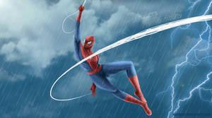 Spiderman by Kuronah