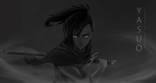 League of Legends - Young Yasuo by Kuronah