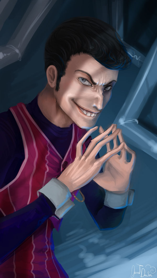 Robbie rotten by GarnetDawn