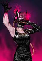 Deathstep Emery by GarnetDawn