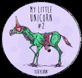 ICKY the unicorn by LadyDeuce