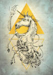 ANATOMY of the mystic unicorn by LadyDeuce