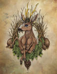 monarch of the venison by LadyDeuce