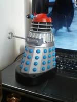 Custom red top dalek - Doctor Who