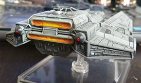 Decimator X-Wing Expansion custom engine by Hordriss