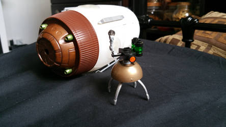 The War of the Worlds cylinder + heat ray