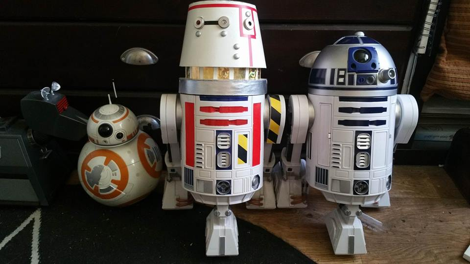 Custom Interactive R2 to R5 Series by Hordriss