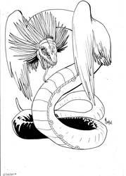 Quetzalcoatl by mepol