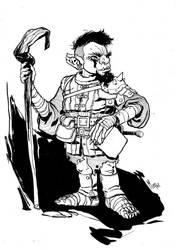 Goblin Sorcerer (Character desgin) by mepol