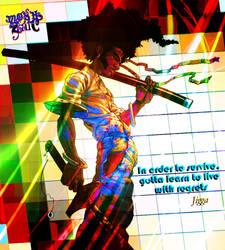 Regrets: Afro Samurai by MOSHzaic