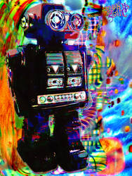 Robot by MOSHzaic