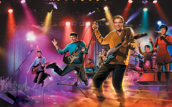 Star Trek Tos Rock Concert